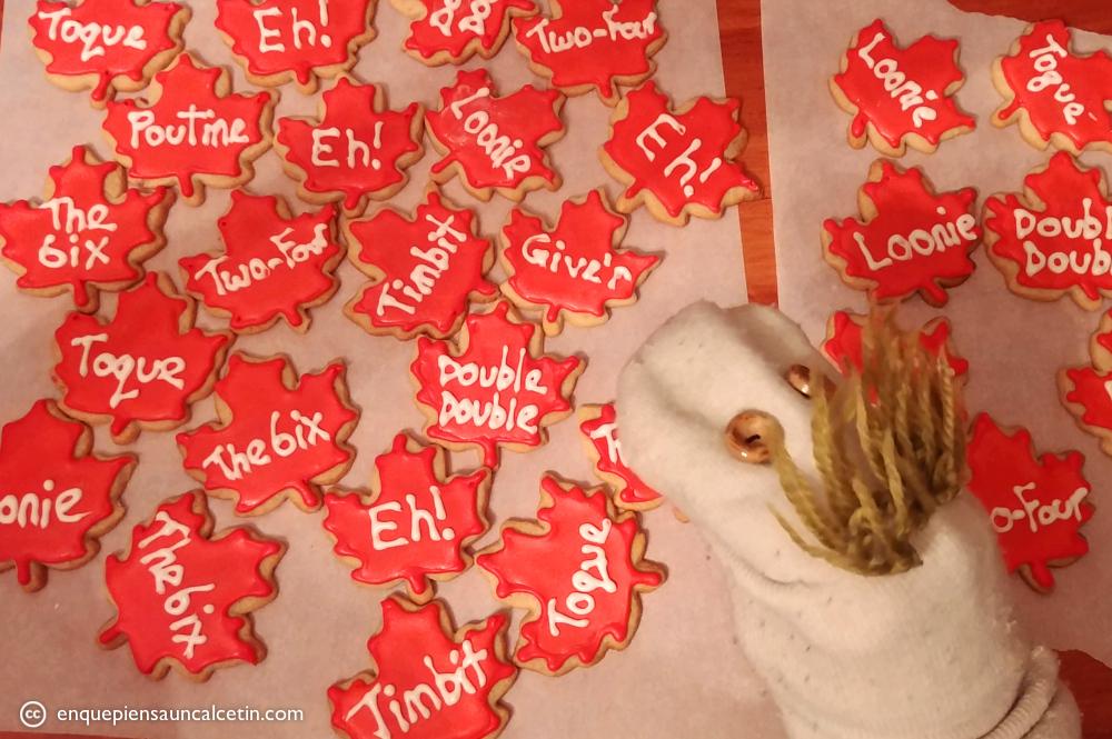 galletas canadienses