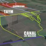 Un informe señala que el predio de CORMECOR es inundable