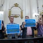 Con el voto de UPC, el PRO y la UCR, aprobaron la obra de los gasoductos