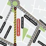 Cortes de tránsito por las obras de gas en la avenida Spilimbergo