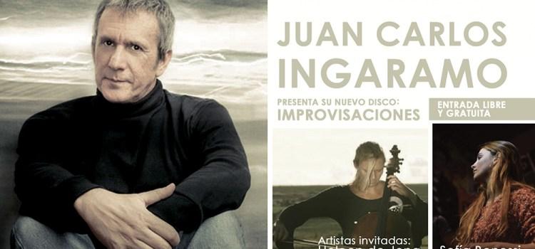 Juan Carlos Ingaramo presenta su nuevo disco