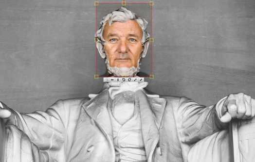 Bill Murray como Abraham Lincoln