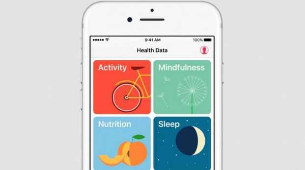 actividades de aplicación Health iphone