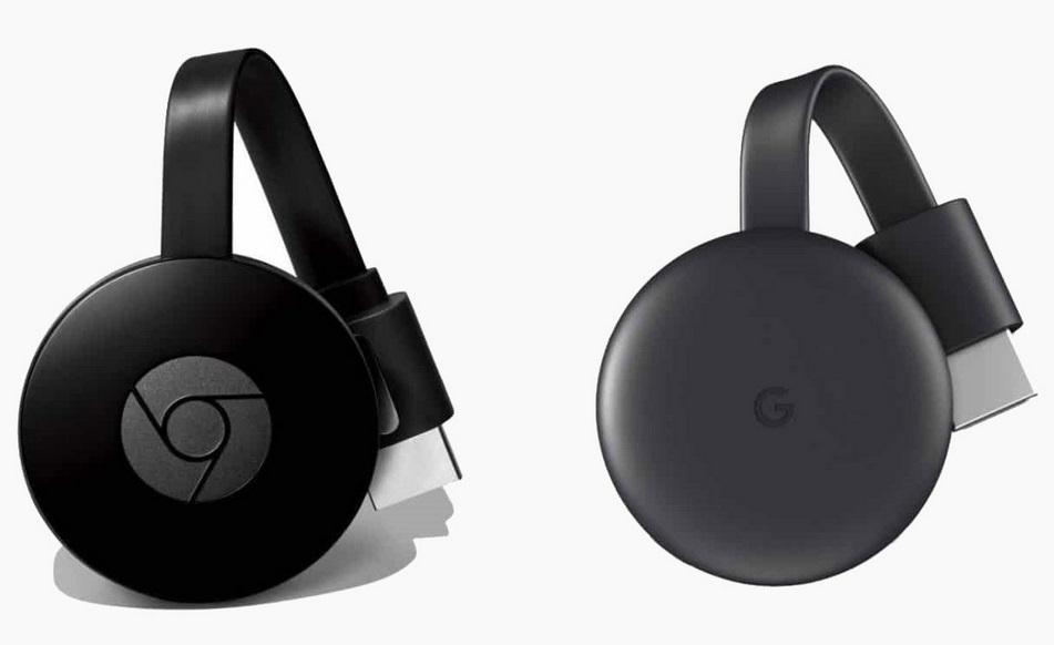 Chromecast 2 y Chromecast 3