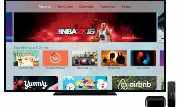 Cómo actualizar a lo último en el sistema operativo del Apple TV