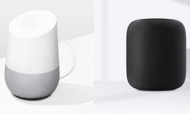 Google Home vs. Apple HomePod
