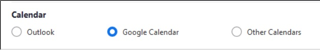 asignar reuniones zoom calendario