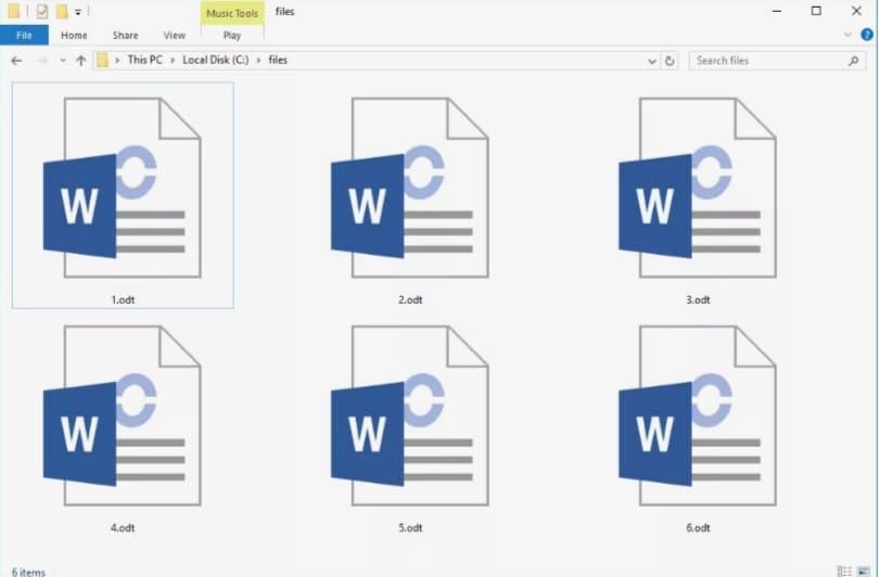¿Qué es un archivo ODT?