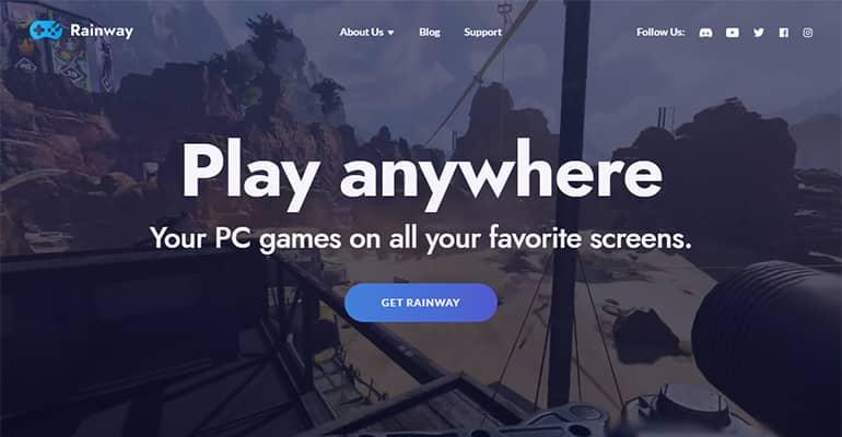 Rainway: Juega a tus juegos de PC desde cualquier dispositivo