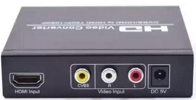 Cómo convertir el cable coaxial a HDMI