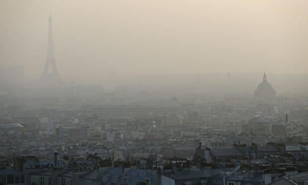 Paris bans internal combustion cars