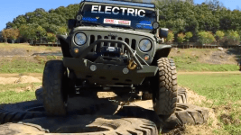 Electric Jeep Tackles the Tough Trails Like a Boss (w/ Video)