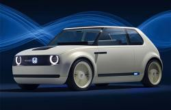 Honda Urban EV Concept And Smart Power Sharing System At Frankfurt Auto Show