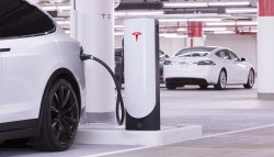 Compact Tesla Supercharger Coming For Urban Areas