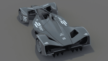 While We Wait: 3D Spark Racing Formula E Concept