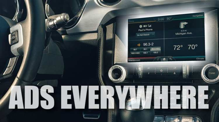 in car ads discussed at ces 2018