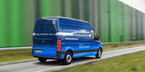 Mercedes Introduces New Electric Sprinter Van (w/ Video)
