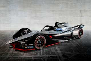 The Nissan Formula E race car will highlight the next generation of motorsports at Nissan at the 2018 Rolex Monterey Motorsports Reunion at WeatherTech Raceway at Laguna Seca.