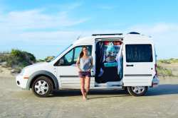 Just Right - Ford Transit Connect Makes Living on the Road Easier