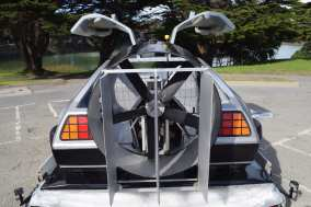 DeLorean Hovercar Hovercraft