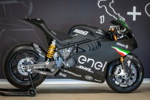 Under the Skin of the MotoE Electric Motorcycle