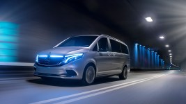 Mercedes EQV Electric Van Debuts with 250 Mile Range