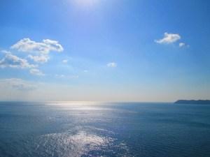 淡路島より望む