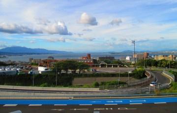 大津SAより琵琶湖を望む