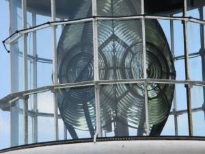 経ケ岬灯台の第一等レンズ