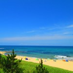 ビーチと海が美しい夏の琴引浜