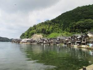 京都 伊根の舟屋群