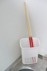 一人暮らしに必要な物 菜箸