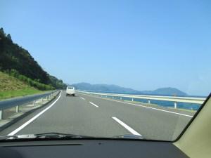 京都 国道178の海沿いの道