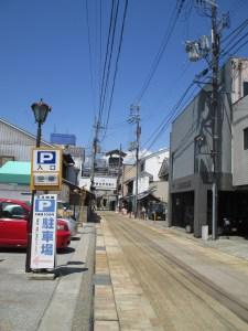 長浜 黒壁スクエアの駐車場