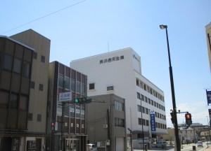 長浜 元浜町の交差点
