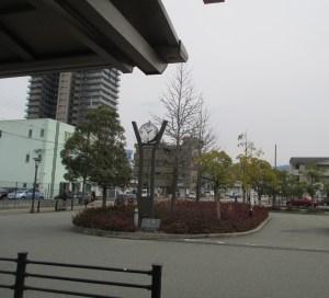 JR亀岡駅 ロータリー