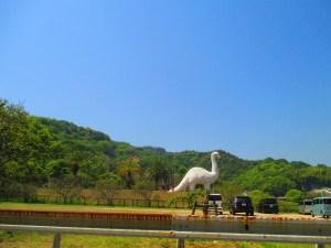 しまなみ海道 因島の恐竜