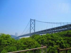 しまなみ海道 因島のはっさく屋からの景色