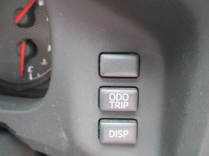 86 ODO TRIPとDISPボタン