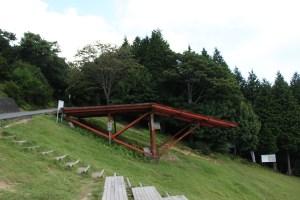 池田山 パラグライダー発射台