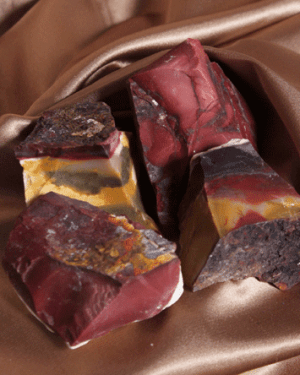 Enriching Elements Gifts for life Crystals Mookaite chunks