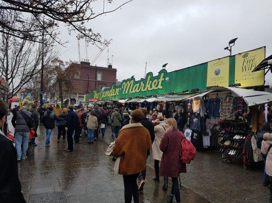 """Il camden Market - un mercato """"alternativo"""""""