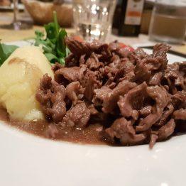 Straccetti Chiantigiani - straccetti di vitello aromatizzati al chianti
