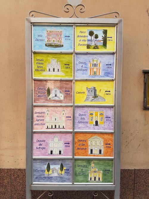 Indicazioni a Santa Margherita