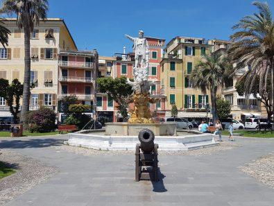 Sul lungomare di Santa Margherita