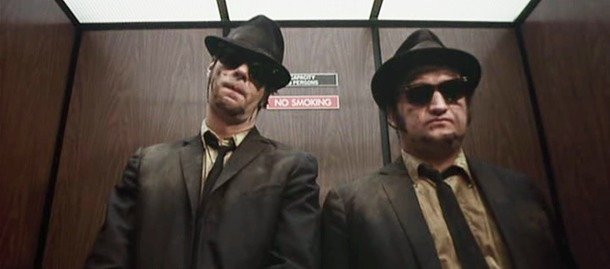frasi da dire in ascensore blues brothers