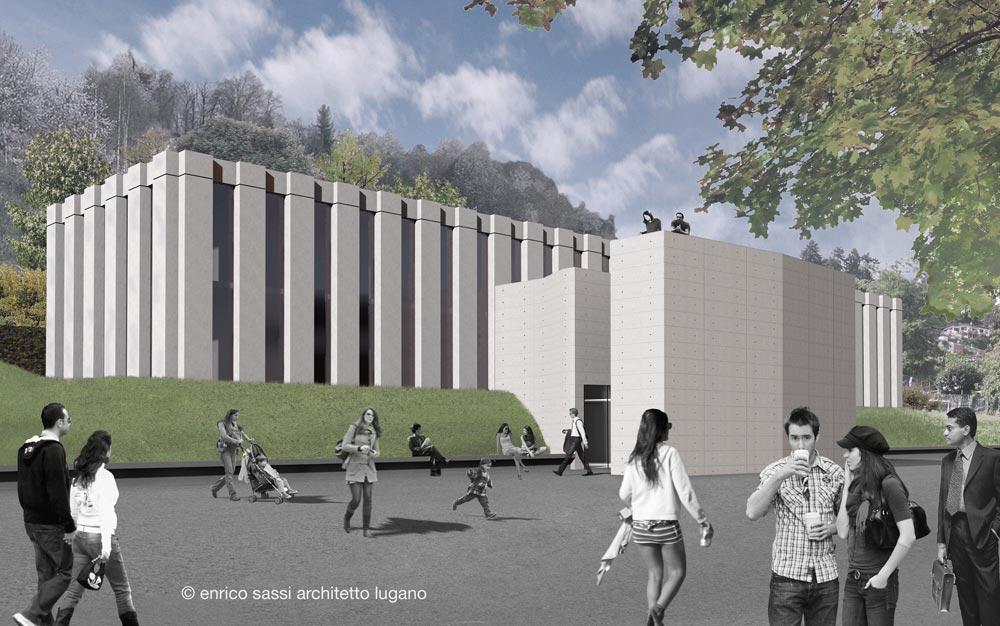 Enrico Sassi Architetto  Swiss Stem Cells Institute  Lugano