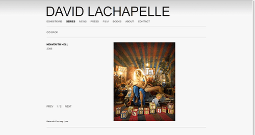 David LaChapelle [Fashion/ADV/Art]