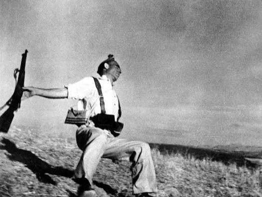 Morte di un soldato miliziano di Robert Capa