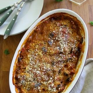 Bohémienne {Baked Eggplant & Tomato}
